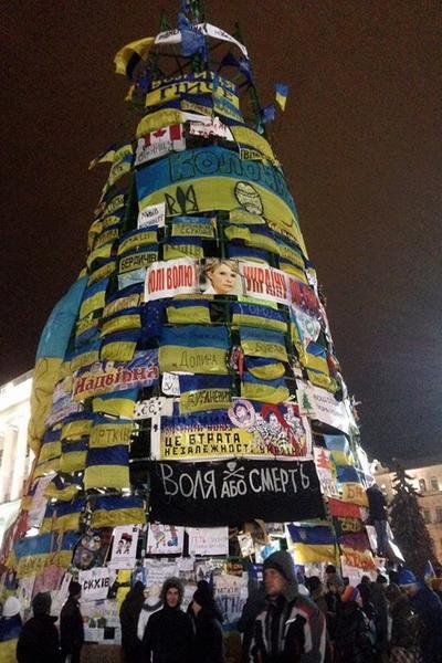 елка на Майдане