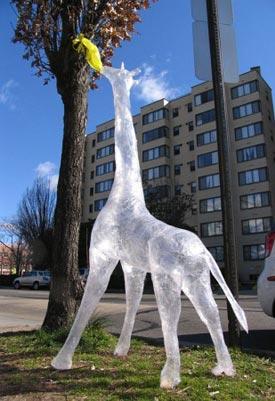 скотч-скульптуры